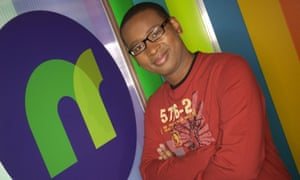 'Children have never known anything but an age of streaming' ... Lizo Mzimba presenting Newsround in 2005.