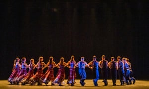 A scene from The Thread by Russell Maliphant and Vangelis @ Sadler's Wells.