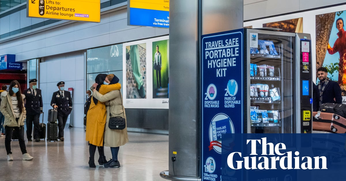 'I'm excited to see my parents': Guardian readers on travel-rule easing