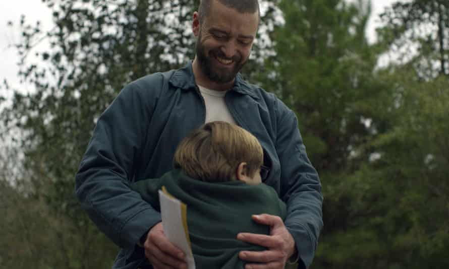 Justin Timberlake and Ryder Allen in Palmer, a film content to play it safe.
