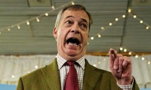 Hubris, thy name is Nigel.