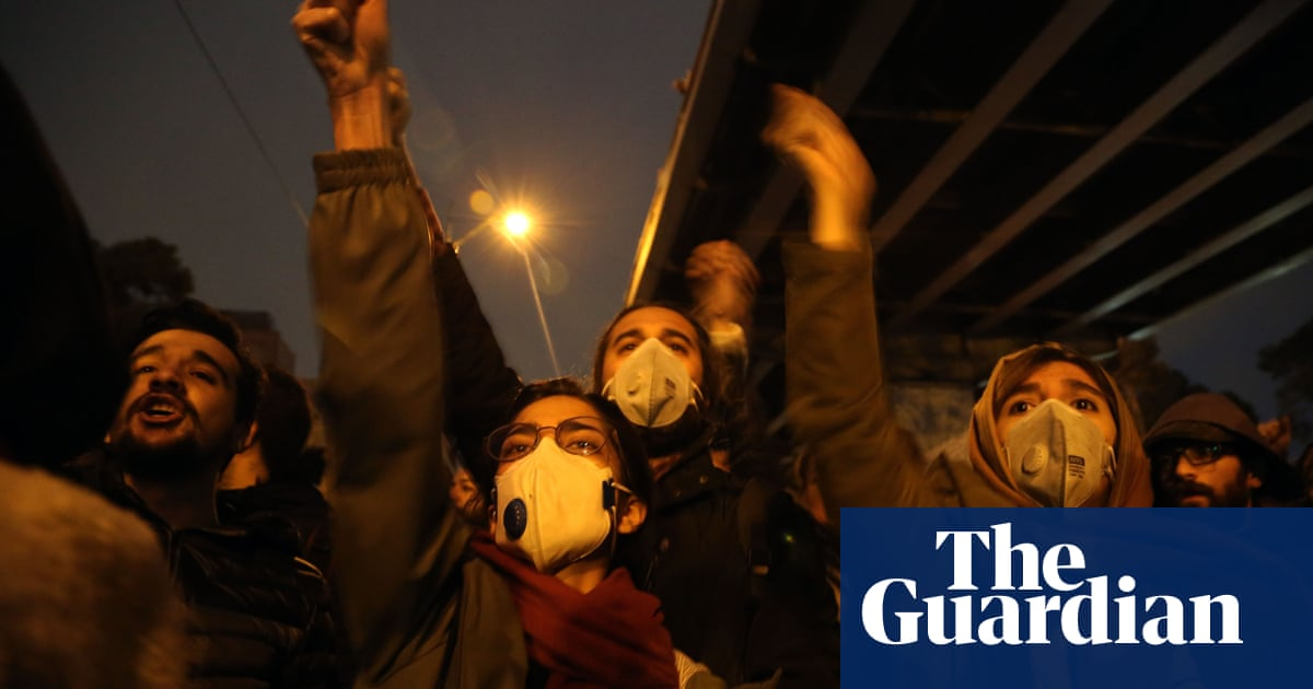 5760 - Donald Trump warns Iran against 'another massacre' amid airliner protests | World news
