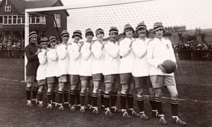 Dick, Kerr LadiesA team photograph of Dick, Kerr Ladies football team, founded in Preston, Lancashire, during World War One, who were undefeated British champions during the 1920-1921 season. The team remained in existence until 1965 and attracted over 50,000 spectators in some of their international matches. (Photo by Popperfoto/Getty Images)