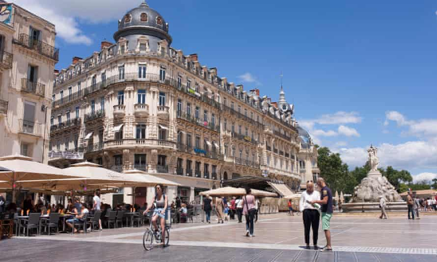 Place de la Comédie, Montpellier.