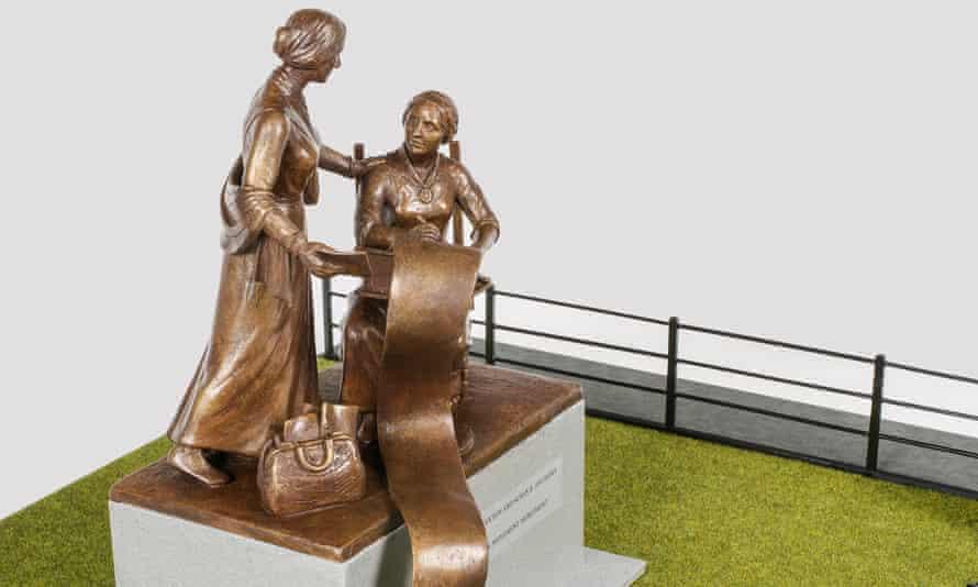 A design of Meredith Bergmann's Central Park sculpture.