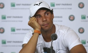 The nine-time champion Rafael Nadal announces he is pulling out of the French Open.