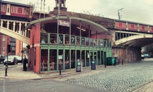 The Knott pub, opposite Deansgate station in Manchester