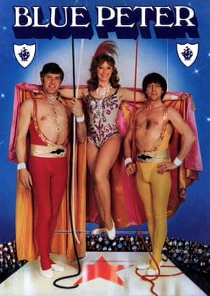 Stitched into the fabric of this country … Peter Purvis, Lesley Judd and John Noakes.