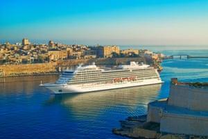 Viking Sun in Malta.