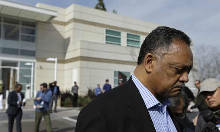 Jesse Jackson, an Apple stock owner for 15 years, said: 'Where we stand in controversy is a measure of our character.'