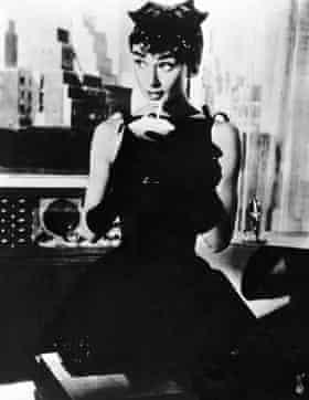 Audrey Hepburn as Sabrina.