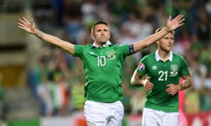 Robbie Keane in 2015 … where could Ireland go with more investment in football?