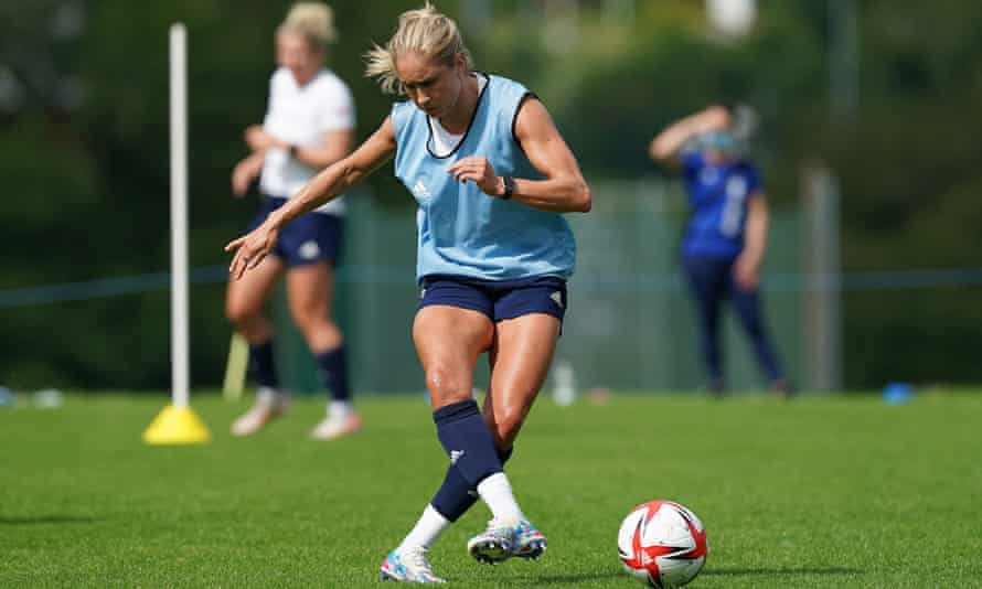 Steph Houghton said: 'We want to get the whole of Team GB going.'