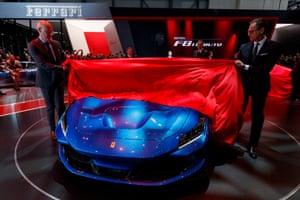 Ferrari reveals its new F8 Tributo, a car packing a 710bhp twin turbo V8 3.9 litre petrol engine.