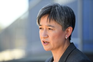 The Shadow Minister for Foreign Affairs Senator Penny Wong.