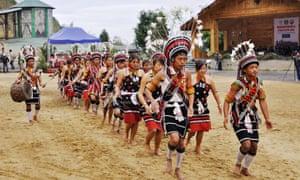 Song and dance … the Hornbill Festival, Kohimi.