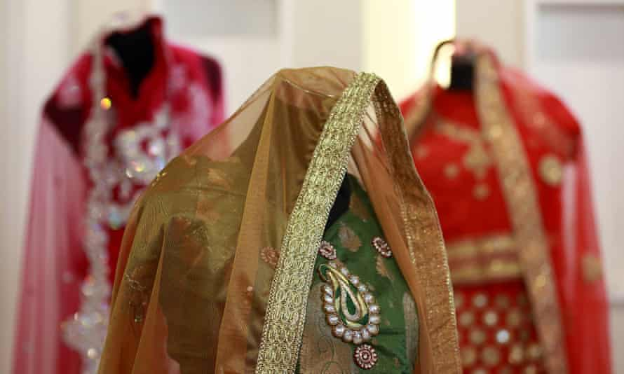 Sabitha gives three dresses to each bride, as most Indian weddings involved multiple ceremonies, requiring different outfits.