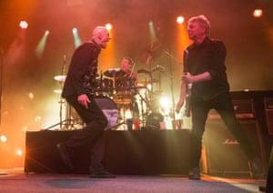 Midnight Oil on stage