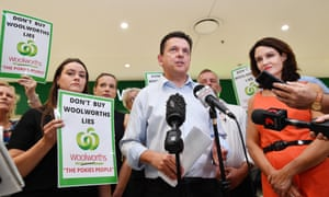 The SA Best party leader, Nick Xenophon