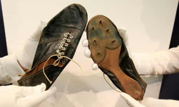Roger Bannister's shoe