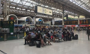 London's Victoria Station at 9am