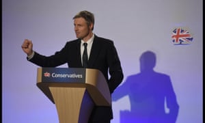Zac Goldsmith at the Conservatives' spring conference.