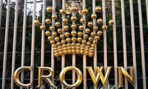 The Crown Perth hotel and casino complex in Western Australia.