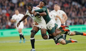 Maro Itoje (left) will be available for Saturday's showdown.