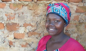 Evelyn shortly after she won the Women for Peace prize in 2013, photographed in Gulu, Uganda