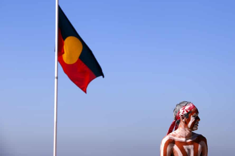 Australian Aboriginal performer