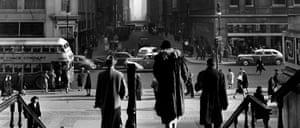 Looking East on 41st Street, New York, 1947