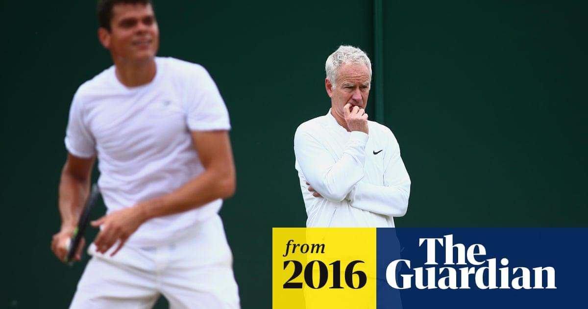 John McEnroe and Milos Raonic end coaching partnership