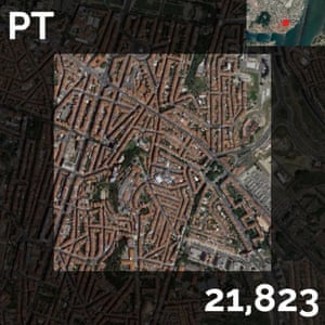 PT - population density maps - lisbon