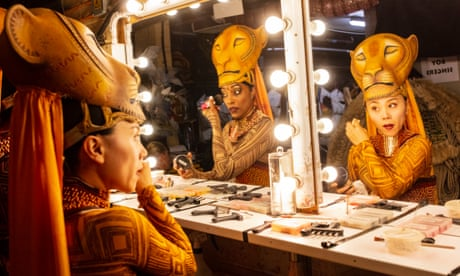 Roaring success: backstage at The Lion King – in pictures