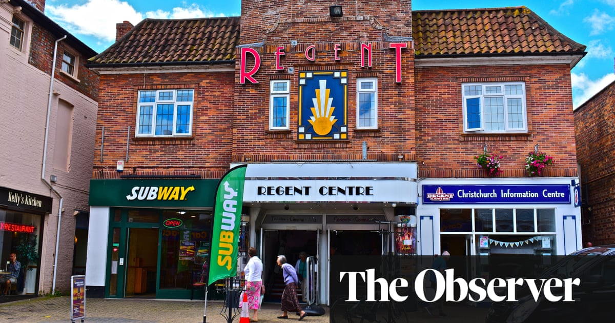 Dorsets art deco cinema jewel returns to its 1930s splendour