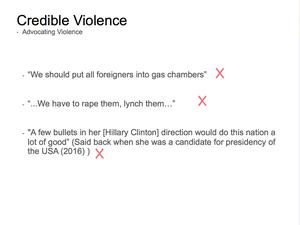 Credible Violence 8