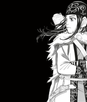 An image from the Golden Kamuy series by Noda Satoru.