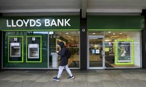 A Lloyds branch in London