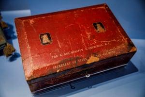 Winston Churchill's despatch box