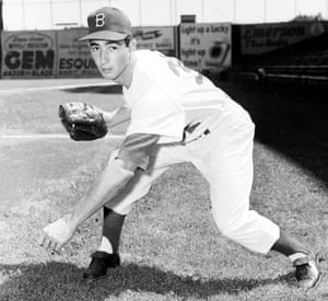 Sandy Koufax didn't spend an inning in the minor leagues, joining his home-town Brooklyn Dodgers as a bonus baby at the start of the 1955 season.