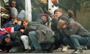 The siege of Sarajevo, April 1992