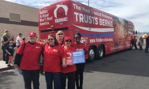 Nurses for Bernie in Las Vegas.