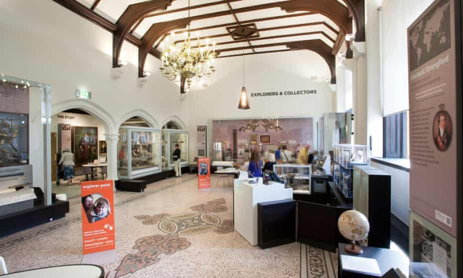 Artefacts from pilgrims are among the attractions at Beaney House, Canterbury.