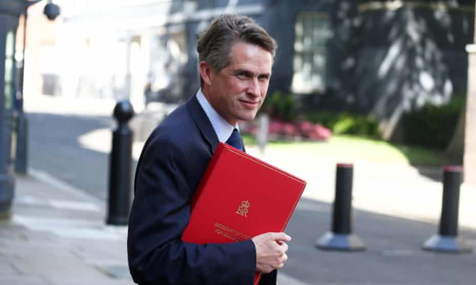 Gavin Williamson reportedly told the Evening Standard that he had met Marcus Rashford but was actually talking about Maro Itoje.