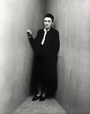Irving Penn Georgia O'Keeffe (D), New York, 1948