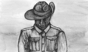 Indigenous Anzac illustration