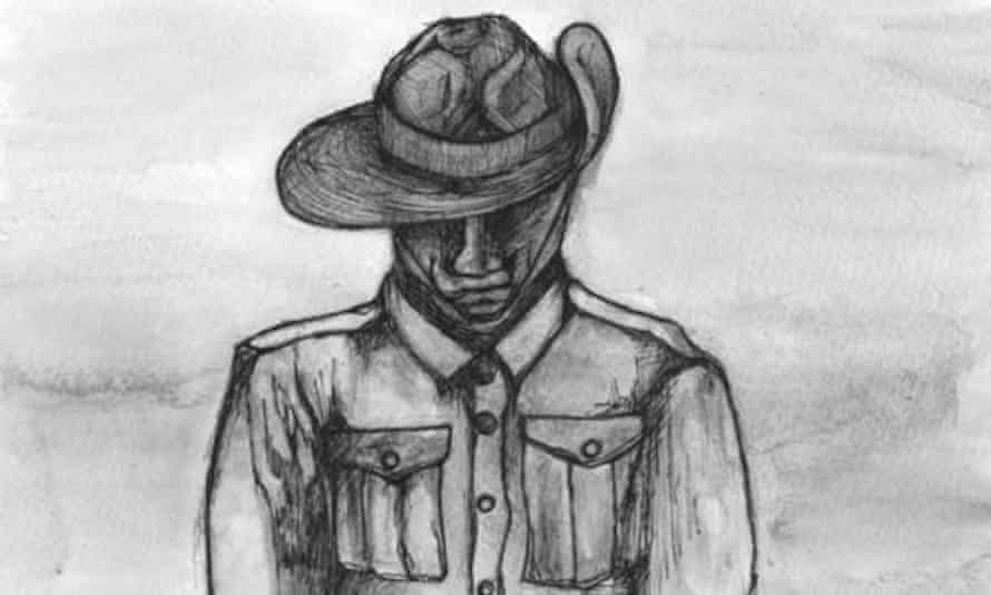 Indigenous Anzac illustration