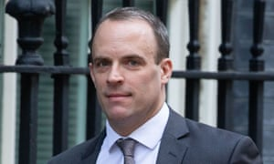 Dominic Raab is second in Tory leadership polls.