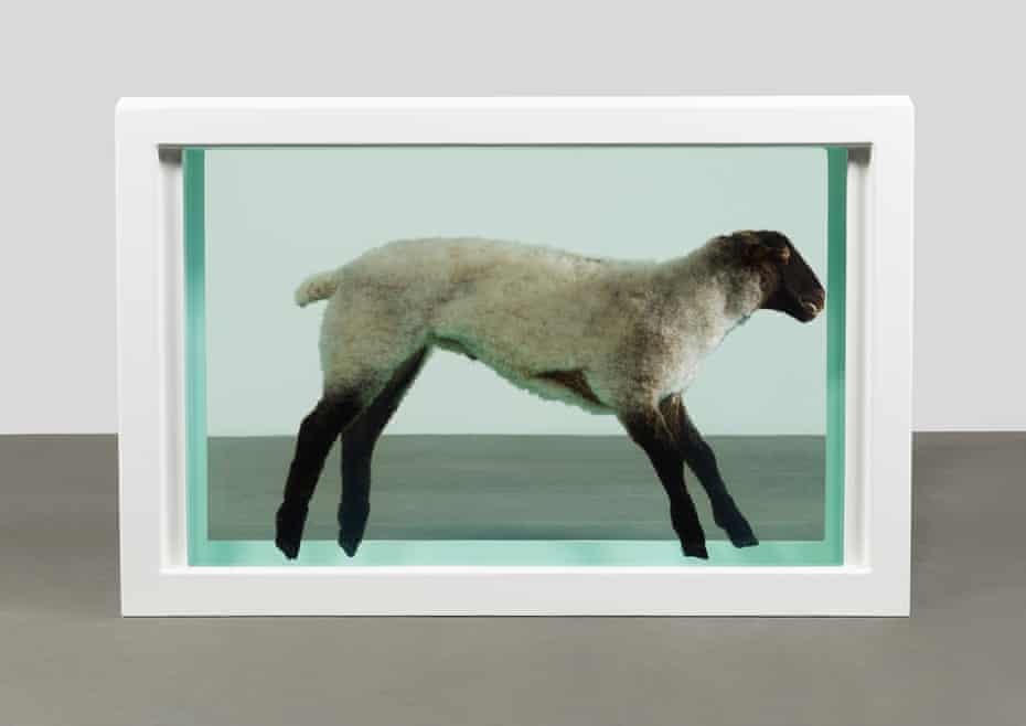 Rooted in Christian imagery … Hirst's Away from the Flock.