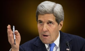 Kerry said: 'This letter ignores more than two centuries of precedent in the conduct of American foreign policy.'